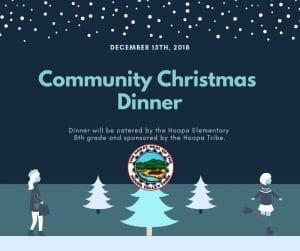 Community Christmas Dinner 2018