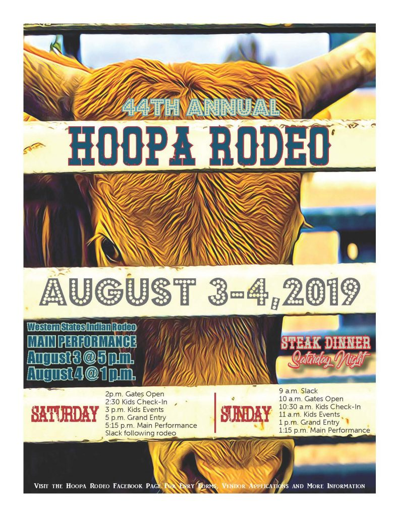 44th Annual Hoopa Rodeo Flyer